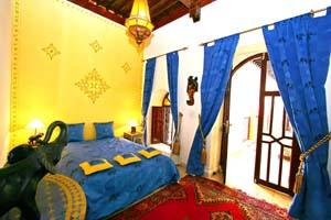 Chambre du Riad Bel Baraka
