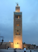 Jour de l'an 2009:Marrakech La Koutoubia
