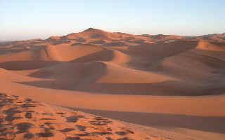 Circuit  quad  Maroc, DUNES de MERZOUGA