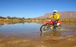 Circuit Motos au Maroc region de ZAGORA