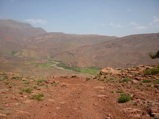 moto au Maroc: piste des améthystes