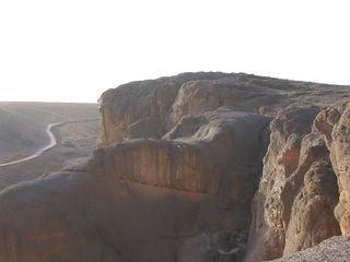 moto au maroc: piste de fint