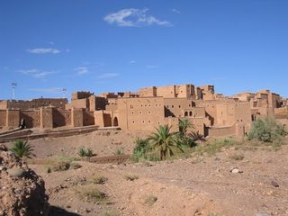 circuit fossile: Kasbah Taourirt Ouarzazate